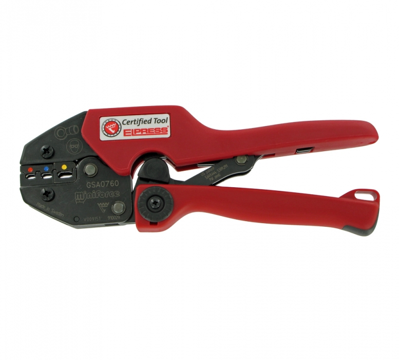 Crimping Tool for Insulated Wire Lugs
